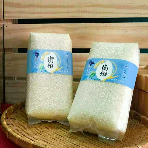 衛稻自然農法益全香米(白米)1kg