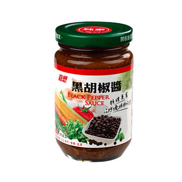嘉懋黑胡椒醬280g-全素