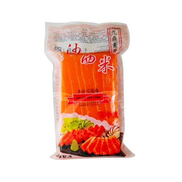 九鼎素鮭魚生魚片-奶素