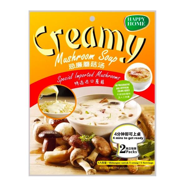 Happy Home忌廉蘑菇湯-全素