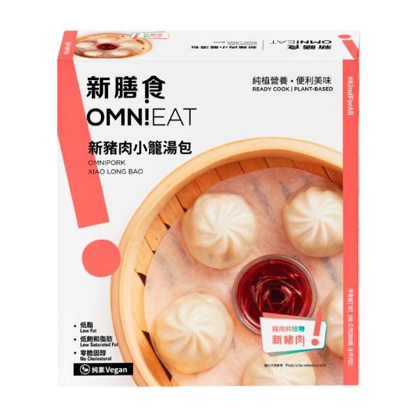 OMNIEAT新豬肉小籠湯包-全素