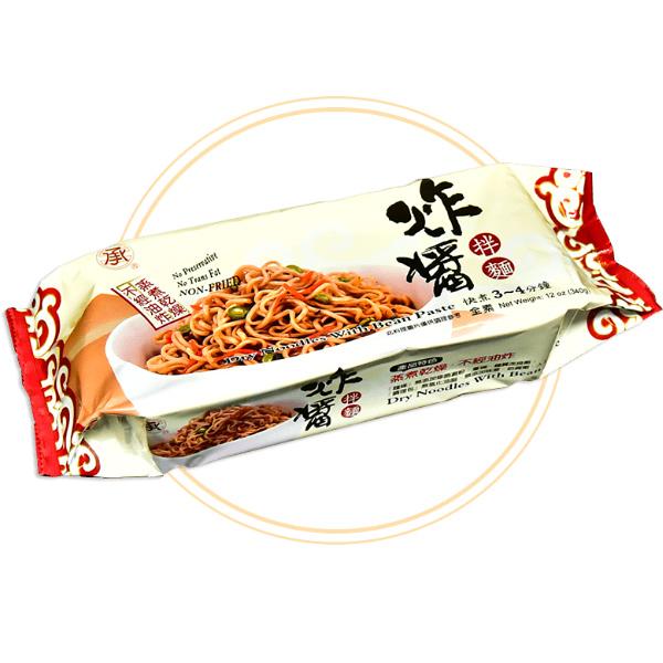 承昌炸醬乾拌麵340G-全素
