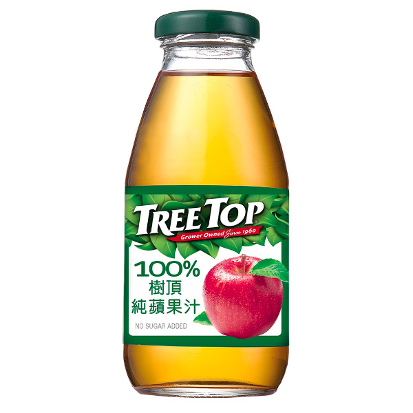 Treetop100%樹頂純蘋果汁300ml-全素