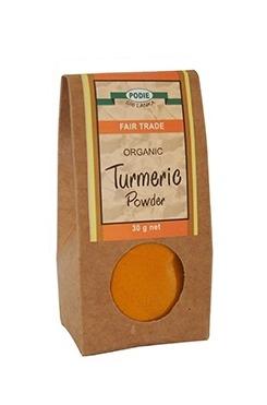 公平貿易有機薑黃粉-全素
