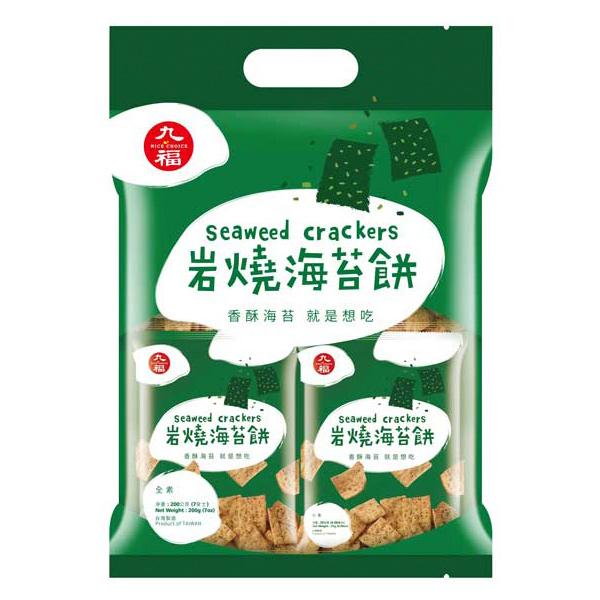 九福岩燒海苔餅-全素