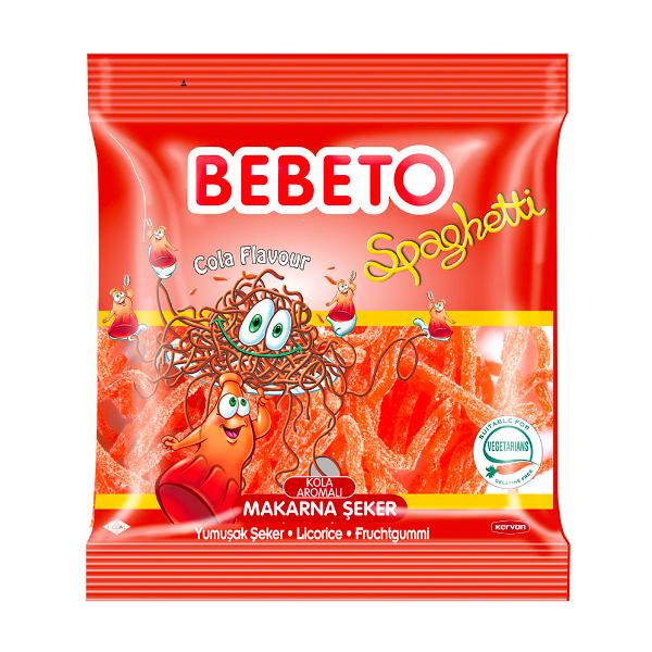BEBETO可樂味酸粉軟糖80g-全素
