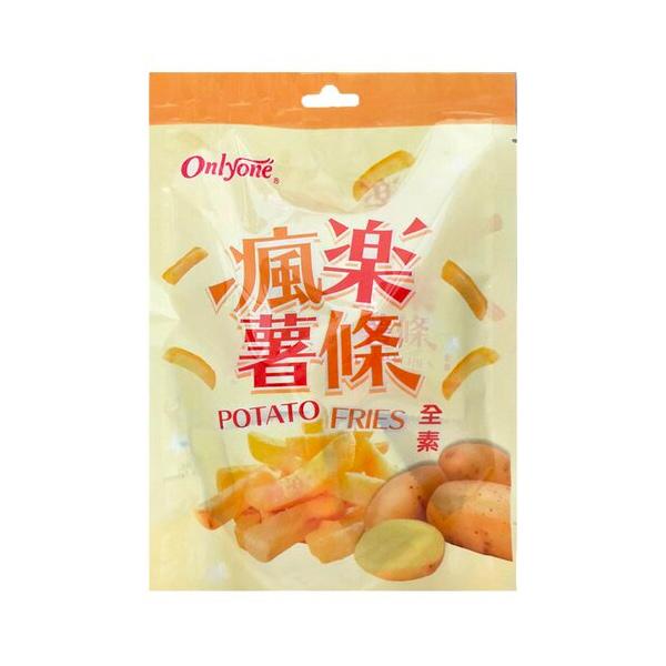 瘋樂薯條-全素