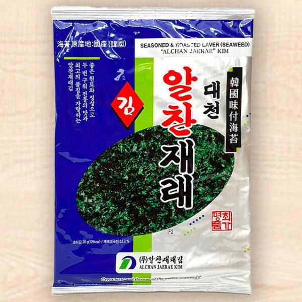 DAEHAN大韓韓式海苔(全型原味)20g-全素