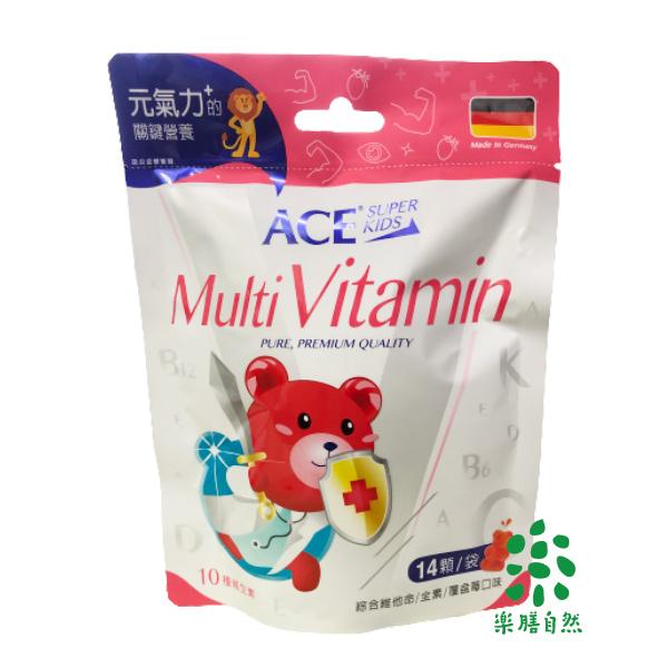 ACE SUPER KIDS 綜合維他命軟糖(14入)-全素