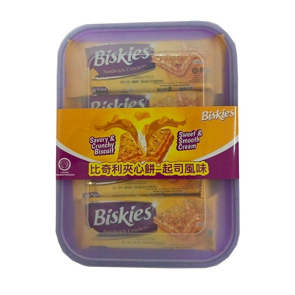 比奇利夾心餅(起司風味)360g-奶素