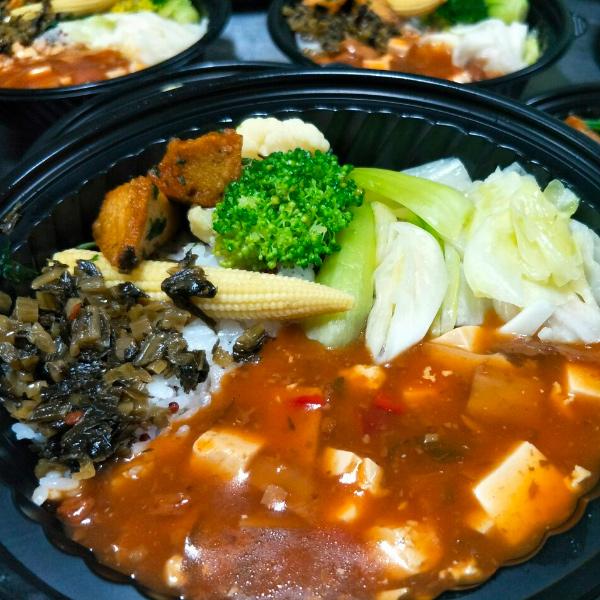 歡喜心集紅藜米飯鮮蔬麻婆豆腐420g-全素