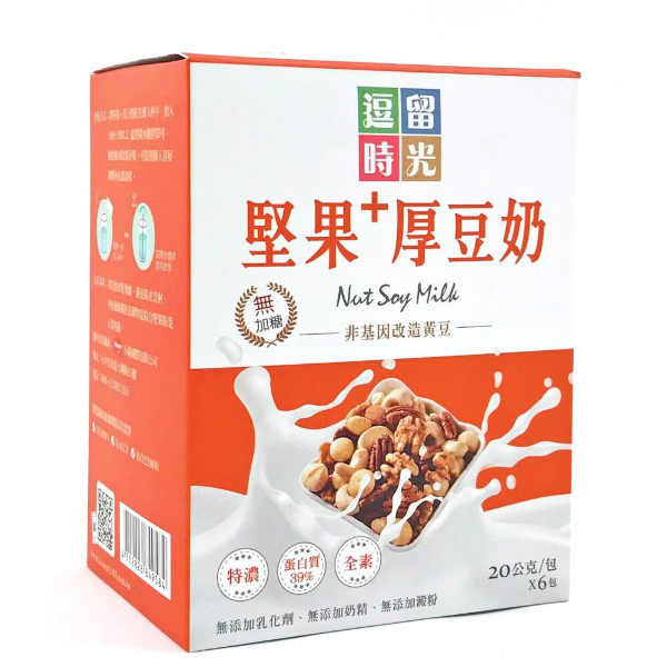 逗留時光堅果豆奶25g(6入)-全素