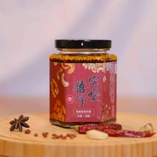 究愛醬子椒麻堅果拌醬(中辣)250g-全素