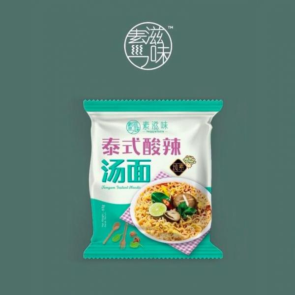 素滋味泰式酸辣湯麵*5包/袋-全素