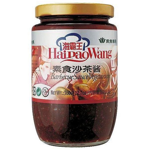 海霸王素食沙茶醬-全素