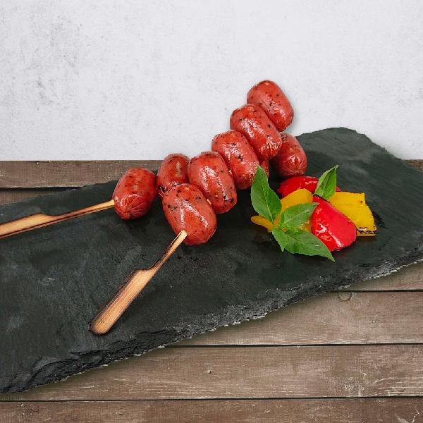 松珍素黑胡椒小香腸454g-蛋素
