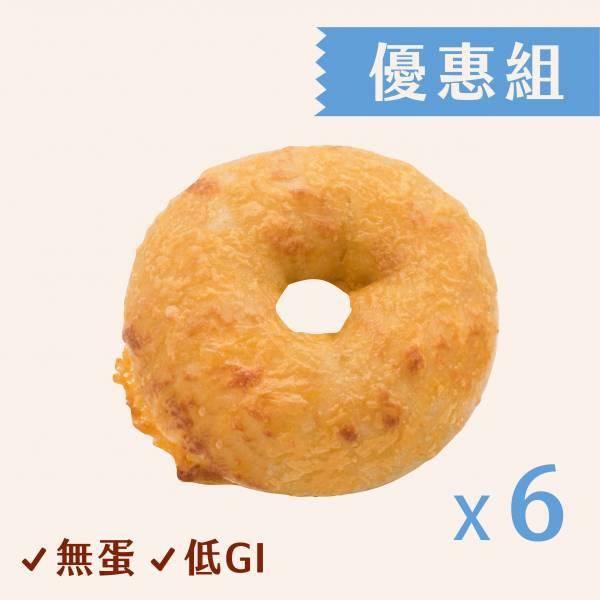 起司酸種貝果(6入) 酸種,貝果
