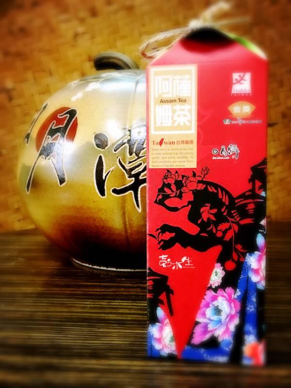 正老欉阿薩姆紅茶彩盒版 阿薩姆紅茶,台茶8號,日月潭紅茶