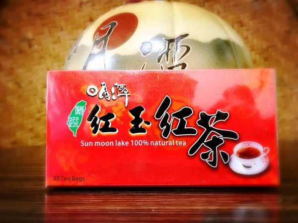 紅玉袋茶30入 台茶18號,日月潭紅茶,袋茶,隨身包
