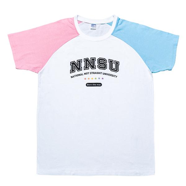 不直大學短袖T恤_我挺跨特別款