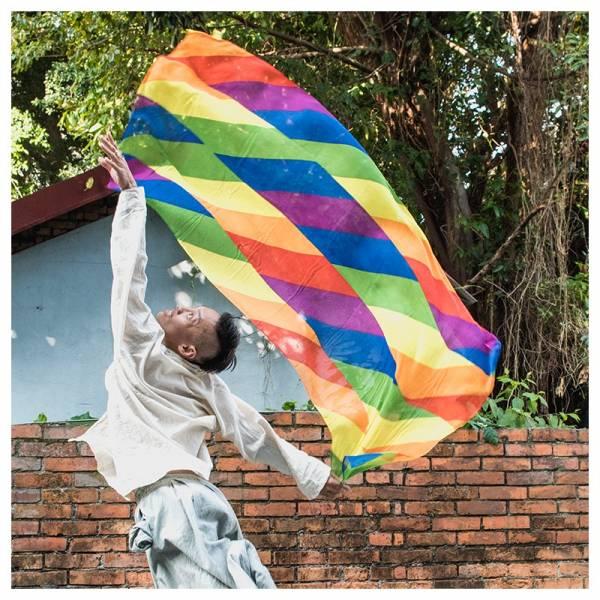 彩虹披肩 彩虹配件,彩虹小物,彩虹披肩,披肩