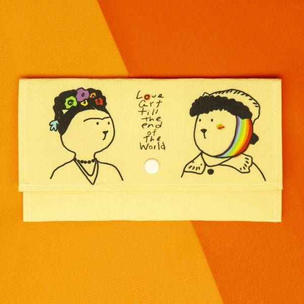 芙列達與梵谷_咪某貓口罩/小物收納夾 口罩,咪某,彩虹商品