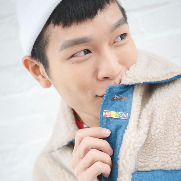 彩虹金屬徽章_HIV+OK款 彩虹金屬徽章,彩虹小物,HIV+OK