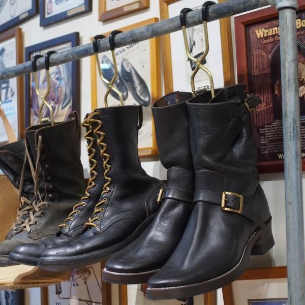 日本製 黃銅 Boots Hanger (3入) 靴子收納,夾靴器,靴子發霉,Boots Hanger,TOKYO HANGER