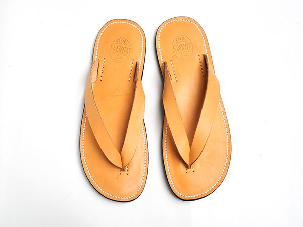Dr. Sole x OGL 天然牛皮夾腳拖鞋 US12