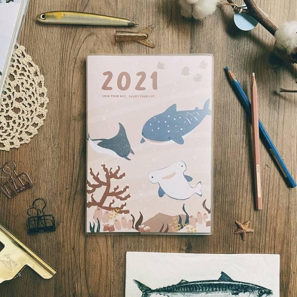 2021發現新農曆 [粉海] 2021,時效日誌,農民曆,迪夢奇,發現新農曆