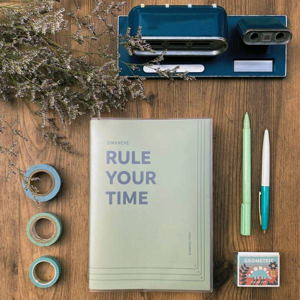 Rule Your Time 頁碼筆記本 v.3 [青蘋果] Dimanche,迪夢奇,Bullet Journal,子彈,頁碼