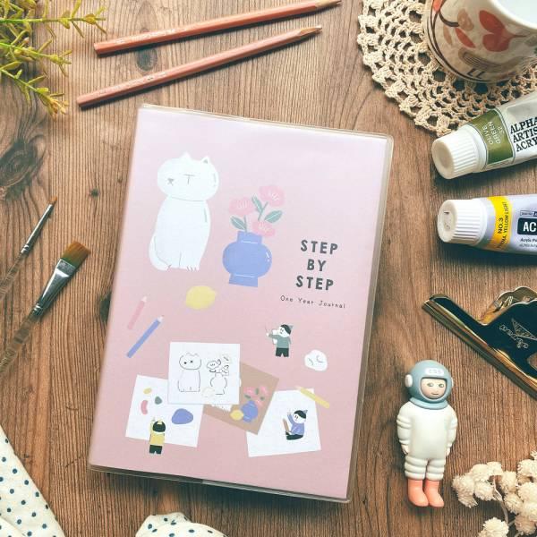 Step by Step 一年計劃v.3 [繪畫] Dimanche,迪夢奇,週計畫,八分割,手帳,方眼格