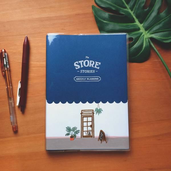 Store Stories 週計劃手帳 [黑板] Dimanche,迪夢奇,週計畫,月計畫,貼紙