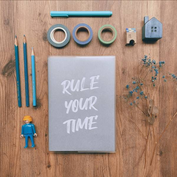 [官網限定] Rule Your Time 頁碼筆記本 v.2 Dimanche,迪夢奇,Bullet Journal,子彈,頁碼