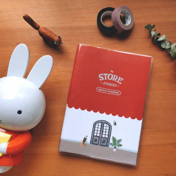 Store Stories 週計劃手帳 [傘架] Dimanche,迪夢奇,週計畫,月計畫,貼紙
