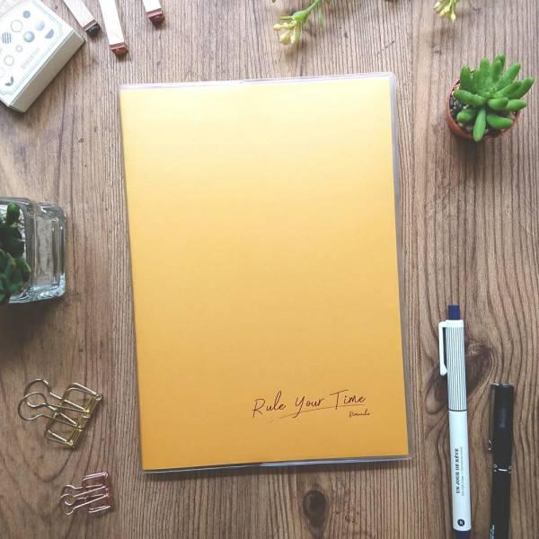 Rule Your Time 頁碼筆記本 [印度黃] Dimanche,迪夢奇,Bullet Journal,子彈,頁碼
