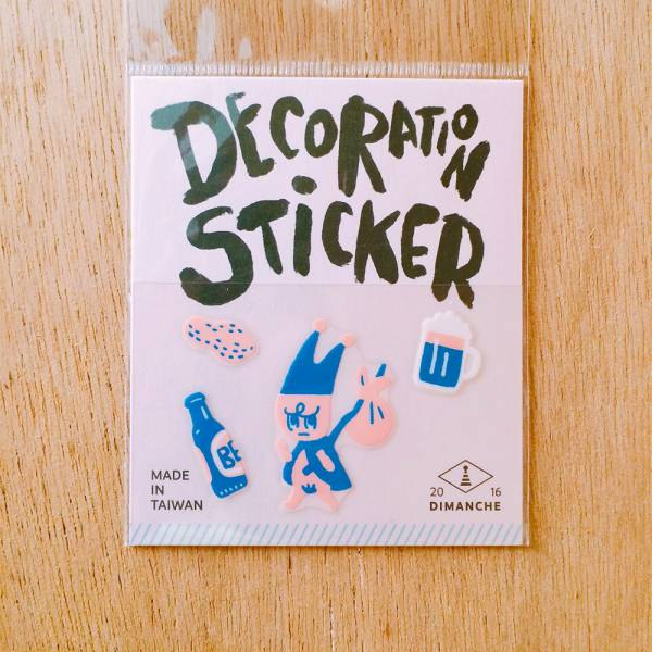 裝飾小貼紙 [小精靈-離家出走] Dimanche,迪夢奇,裝飾,貼紙