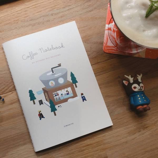 NOTEBOOK系列[喝咖啡] Dimanche,迪夢奇,閱讀,筆記