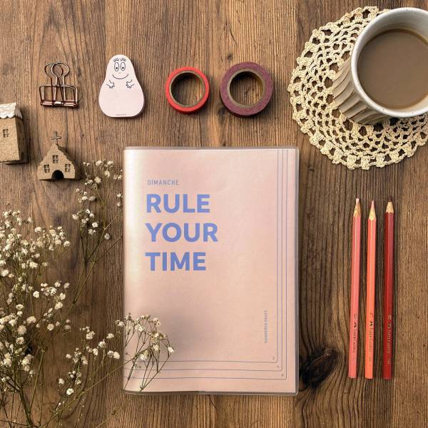 Rule Your Time 頁碼筆記本 v.3 [奶茶] Dimanche,迪夢奇,Bullet Journal,子彈,頁碼