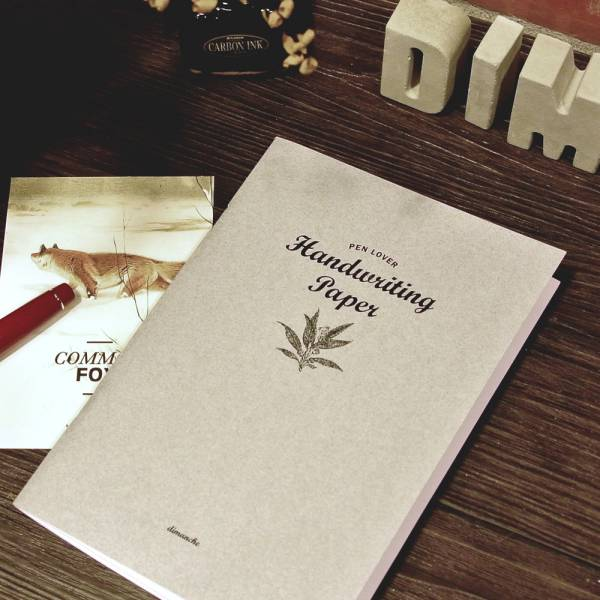 PEN LOVER 鋼筆本 [金貝90g/㎡ (灰)] Dimanche,迪夢奇,鋼筆,書寫