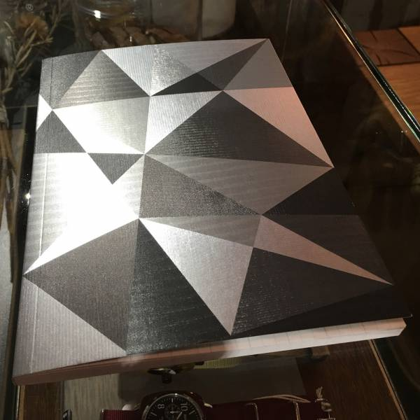 《Nuts》Radiant Notebook 筆記本 [黑] 銀箔,萬花筒,設計,筆記本