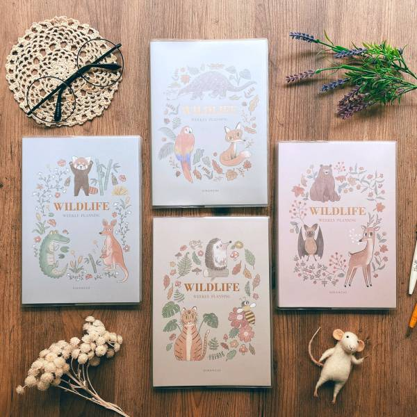 Wildlife 週計劃手帳 Dimanche,迪夢奇,週計畫, 365