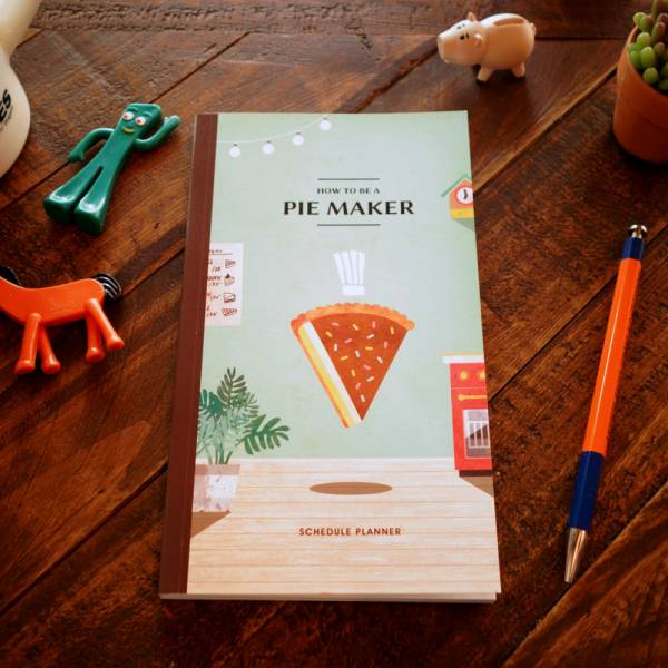 Pie Maker時間規畫本 [chocopie] Dimacche,迪夢奇,手帳,時間規劃