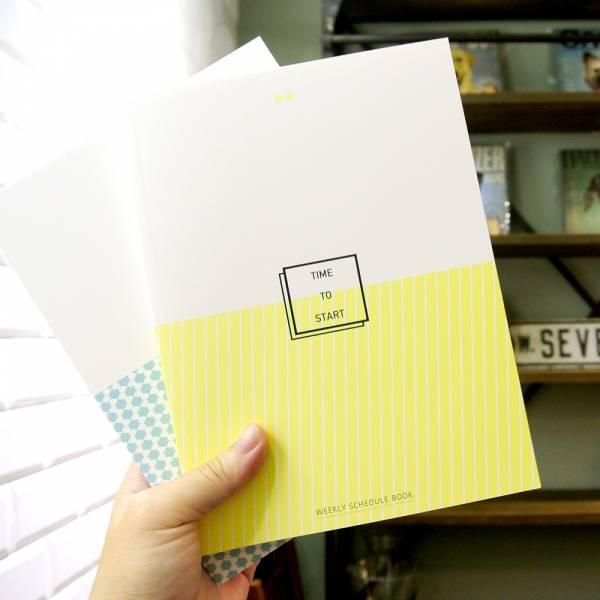 Time to Start 啟動生活日誌 [無時效黃/一般] Dimanche,迪夢奇,時間軸,手帳