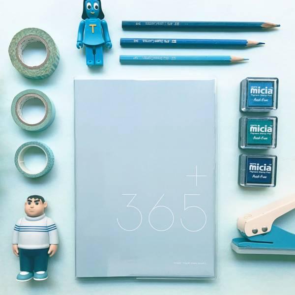 365好好記 v.2 [雨水藍] Dimanche,迪夢奇,365,週計畫