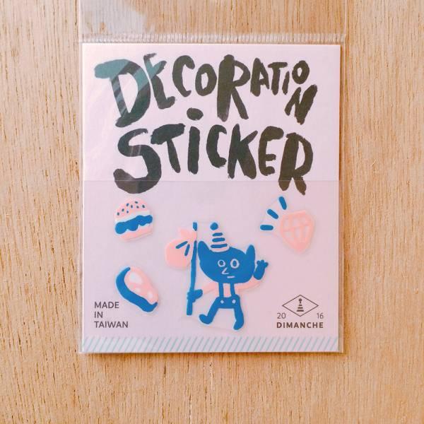 裝飾小貼紙 [小精靈-掰咿] Dimanche,迪夢奇,裝飾,貼紙