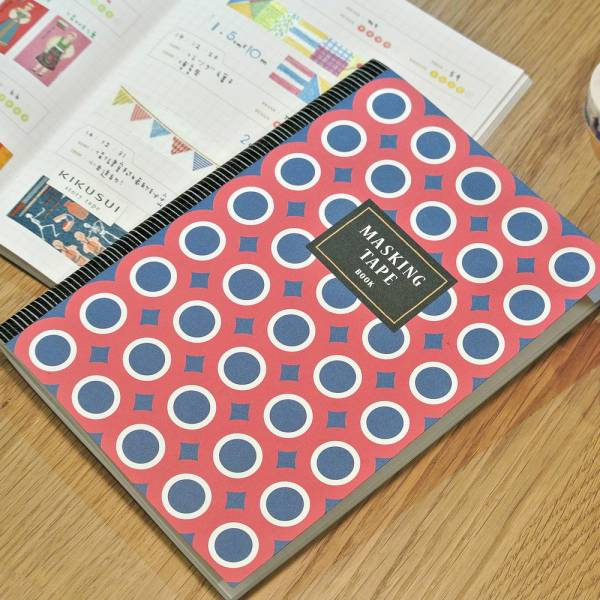 Masking Tape 紙膠帶收集冊 [紅圈] Dimanche,迪夢奇,紙膠帶,收納