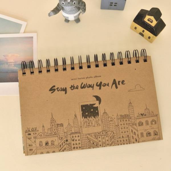 mini album 拍立得相本 v.4 [牛皮 / CITY] Dimanche,迪夢奇,拍立得,相本,DIY