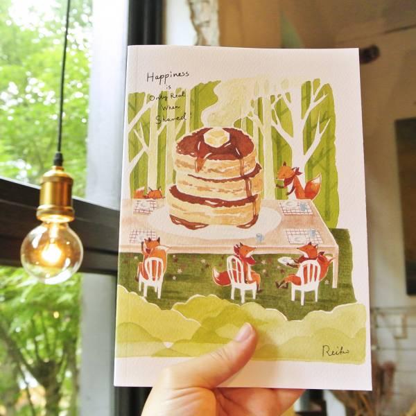 《Nuts》Free160 隨記 - 創作聯名款 [熱鬆餅派對] 插畫家,鋼筆,筆記本