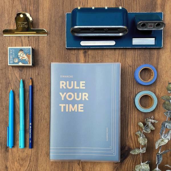 Rule Your Time 頁碼筆記本 v.3 [午夜] Dimanche,迪夢奇,Bullet Journal,子彈,頁碼